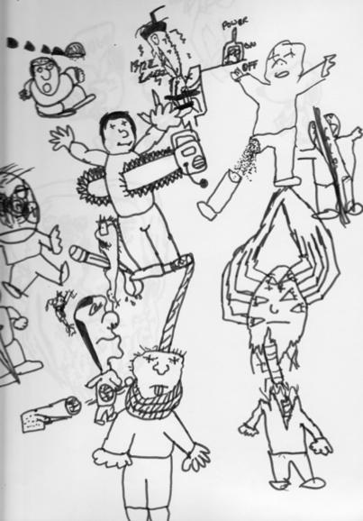 Eli Roth Drawing 2