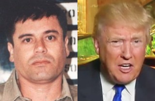 PicMonkey Collage - El Chapo  Trump