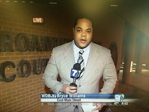 bryce williams wdbj reporting footage