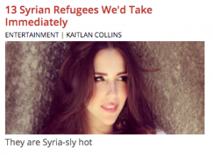 daily caller syrian refugees hot girls headline