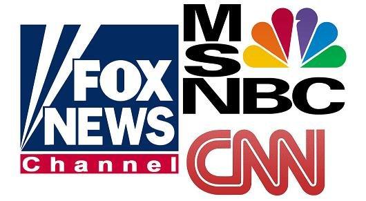 Fox MSNBC CNN