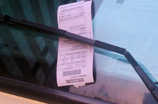 PicMonkey Collage - parking ticket