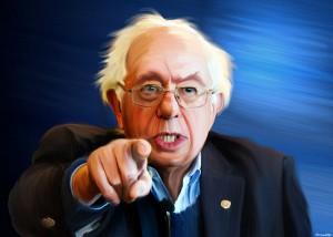 Bernie Sanders portrait