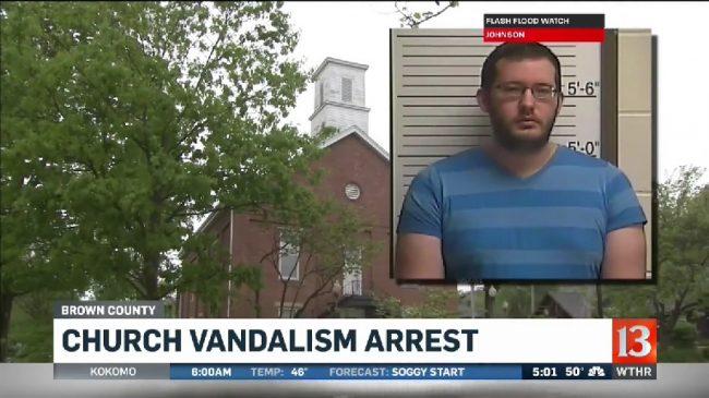 2017-05-03-WTHR-Church_Vandalism