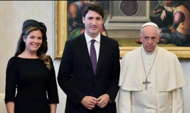 Pope Trudeau
