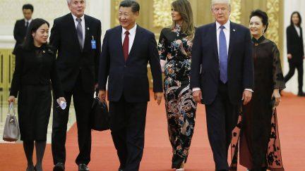 Donald Trump Xi Jinping Thomas Peter/Getty Images)