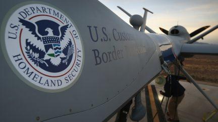 U.S. Border Patrol Customs Enforcement Drone
