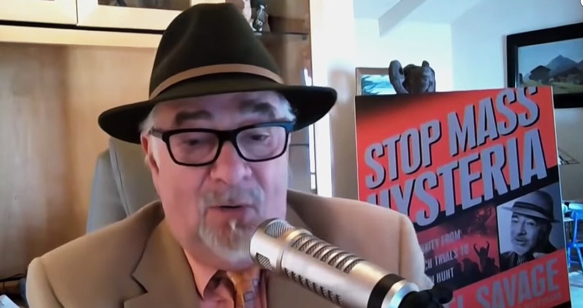 Far Right podcast host and author Michael Savage