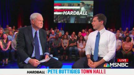 Pete Buttigieg Opposes Push for Al Franken Resignation