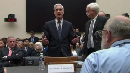 WATCH: Protester Shouts About Paul Manafort and Jared Kushner as Mueller Hearing Opens