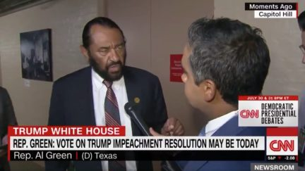 Al Green Says Impeaching Trump is 'Opportunity to Punish' Him