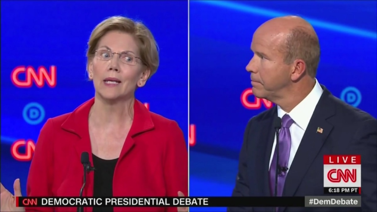 Elizabeth Warren Hits John Delaney: Why Run On What We Can't Do?