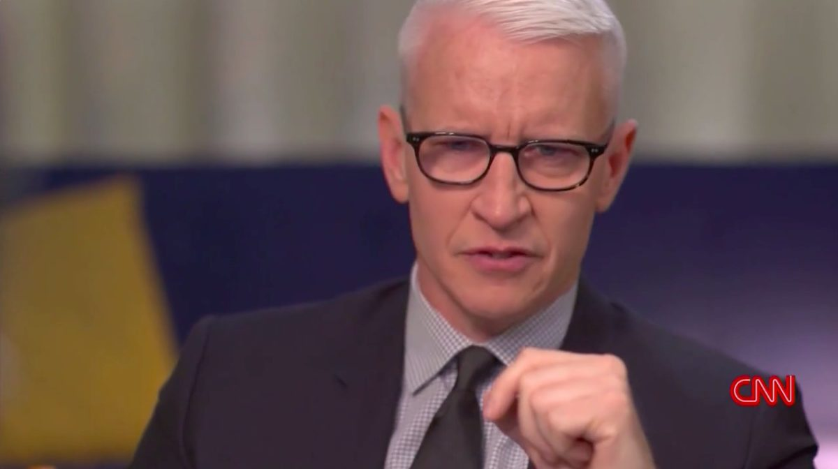 Anderson Cooper Tears Up During Stephen Colbert Discussion on Grief