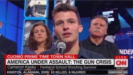 Parkland Survivor Offers Sobering Reminder of Gun Violence at CNN Town Hall