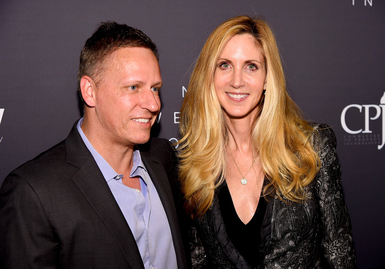Peter Thiel, Kris Kobach and Ann Coulter