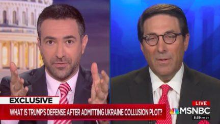 Ari Melber Confronts Jay Sekulow Over Shifting Trump Defenses