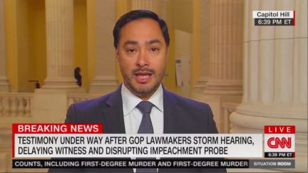 Joaquin Castro Recounts 'Mob Scene' of GOP's Blitz on Impeachment Inquiry SCIF