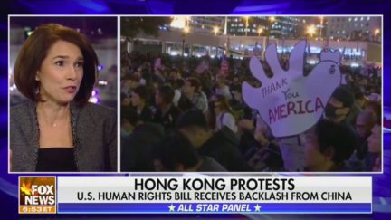 Fox News Panel Praises Trump for Backing Down, Signing HK Protest Bill