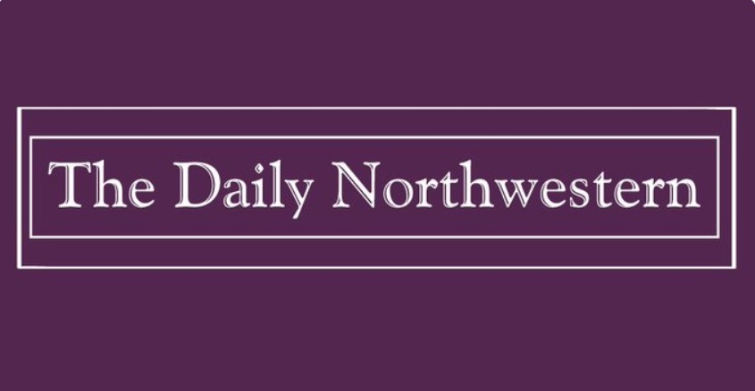'The Daily Northwestern' student newspaper banner