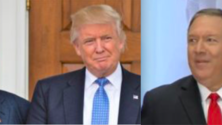 Rudy Giuliani, Donald Trump, Mike Pompeo