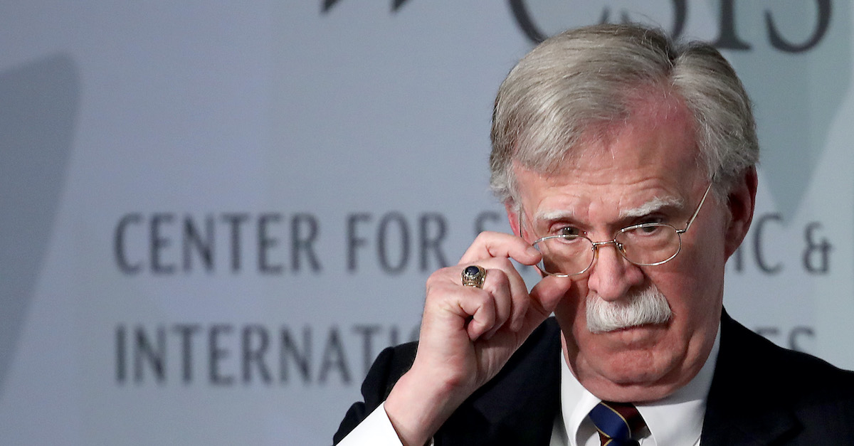 Bolton accuses Trump of more impeachable 'transgressions' in book