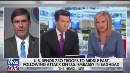 Leland Vittert Presses Mark Esper on Fox News' Americas NewsroomPost image