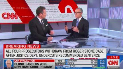 Andrew McCabe Scoffs at Claim Trump Tweets Didn't Pressure DOJ to Reverse Stone Sentence