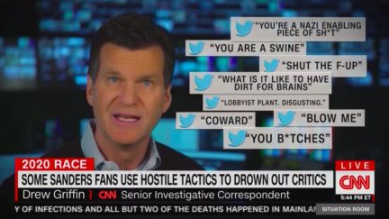 CNN Segment on 'Online Bullying' by Bernie Sanders Supporters