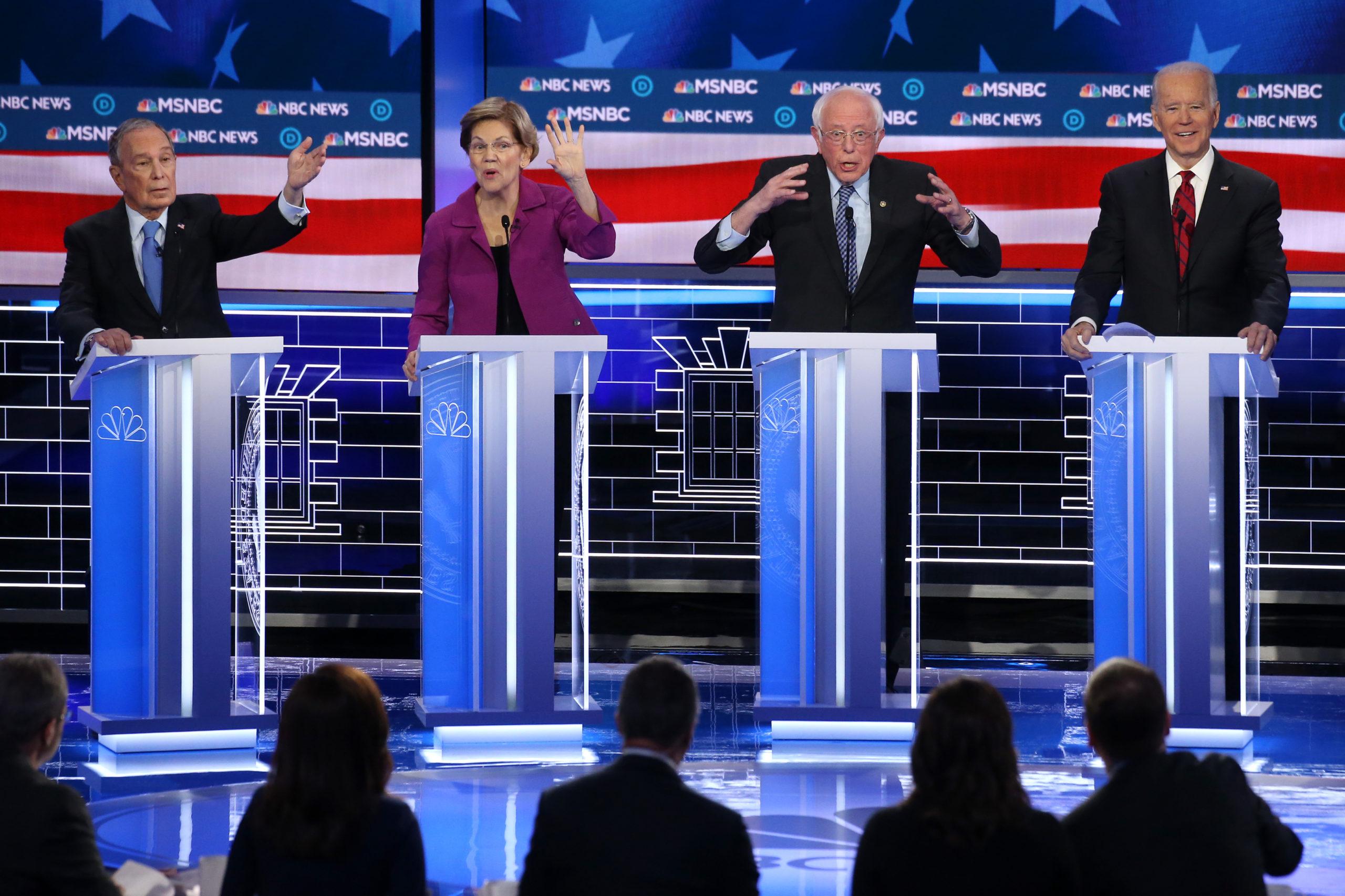 Who Won Democratic Debate In Las Vegas On Msnbc