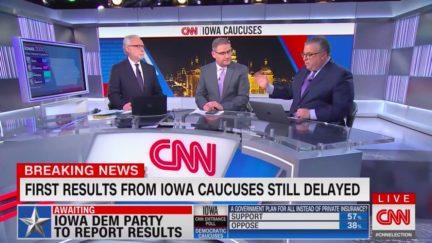 Iowa Vote Delay Frustrates Cable News, Ignites Speculation