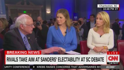 Bernie Sanders Throws Shade at MSNBC for Attacking Him