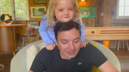 Watch Jimmy Fallon's Kids Steal the Show in Homebound 'Tonight Show' Monologue