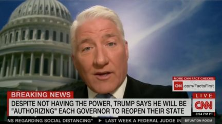 CNN's John King Mocks Trump 'Authorizing' Governors to Do Their Jobs