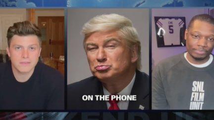 'SNL' Weekend Update Return with Alec Baldwin as Trump