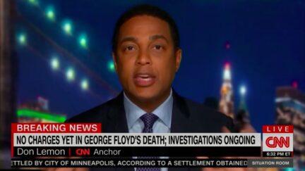 Don Lemon Rages Against Trump's Concern About George Lloyd Case