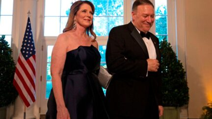 Secretary of State Mike Pompeo and wife, Susan Pompeo