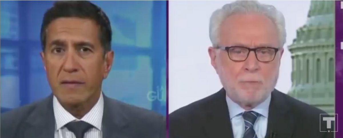 'Misleading' Trump Campaign Ad Features Wolf Blitzer, Sanjay Gupta