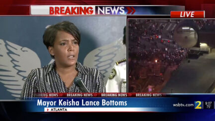 WATCH – Atlanta Mayor Keisha Lance Bottoms Denounces Violent Protests: 'This Is Chaos… You Are Disgracing This City and the Life of George Floyd'