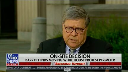 AG Bill Barr Contradicts Trump's Claim of Bunker 'Inspection'