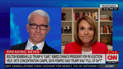 Anderson Cooper Reacts to Claim Trump Praised Saudi MBS to Distract from Ivanka Emails Scandal