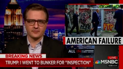 Chris Hayes Blames Trump's 'Psychodrama' for Fueling Nationwide Unrest