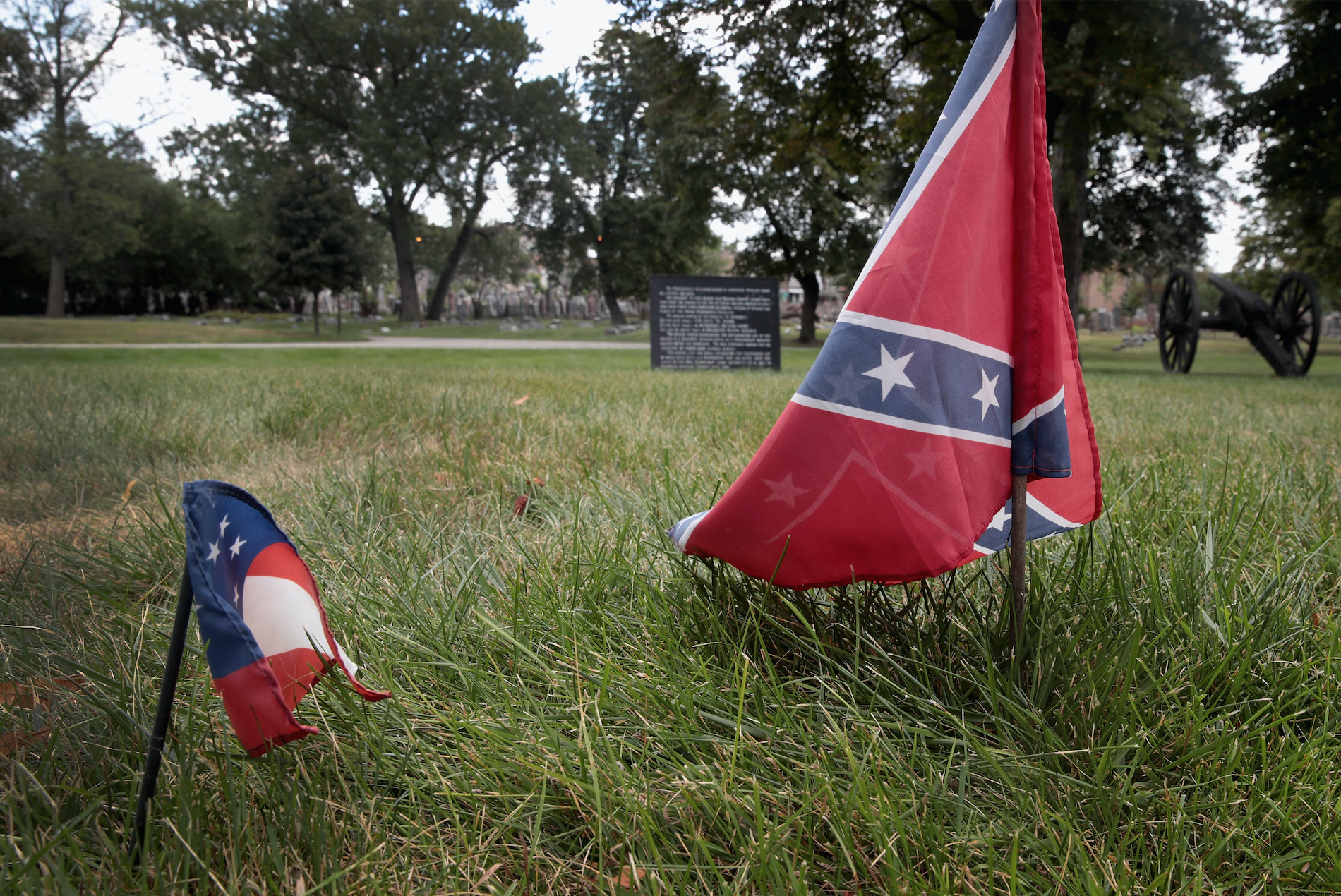 Confederate Flags (Photo by Scott Olson/Getty Images)