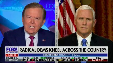 Lou Dobbs Outraged by Dem Leaders Kneeling in the Capitol