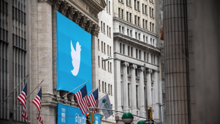 Twitter (Photo by Andrew Burton/Getty Images)