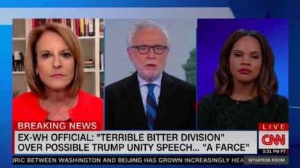 Wolf Blitzer Calls Out Trump's 'Very Dangerous' Antifa Conspiracy Theory Tweet