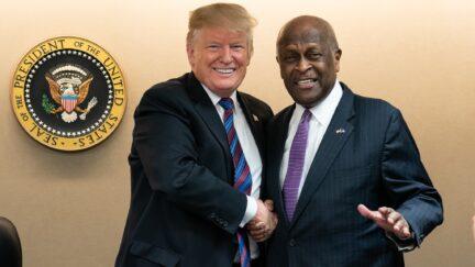 Trump, Herman Cain