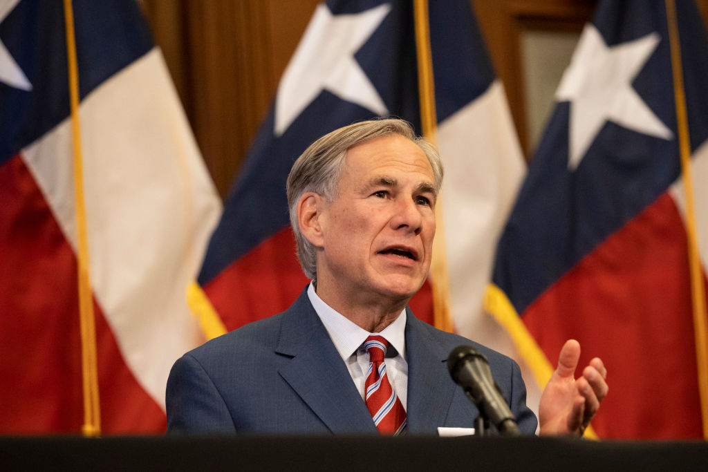 Governor Abbott issues statewide face covering requirement to start Friday