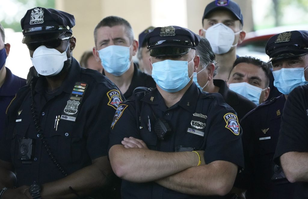 nypd new york police department masks