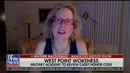 Heather MacDonald Brushes Off Claims Black Cadets Called N-Word at West Point