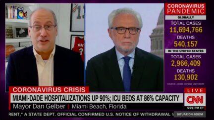 Miami Beach Mayor Calls Out Trump, DeSantis for Downplaying Covid Surge